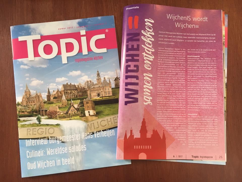 Nieuw magazine 'Topic Wijchen'
