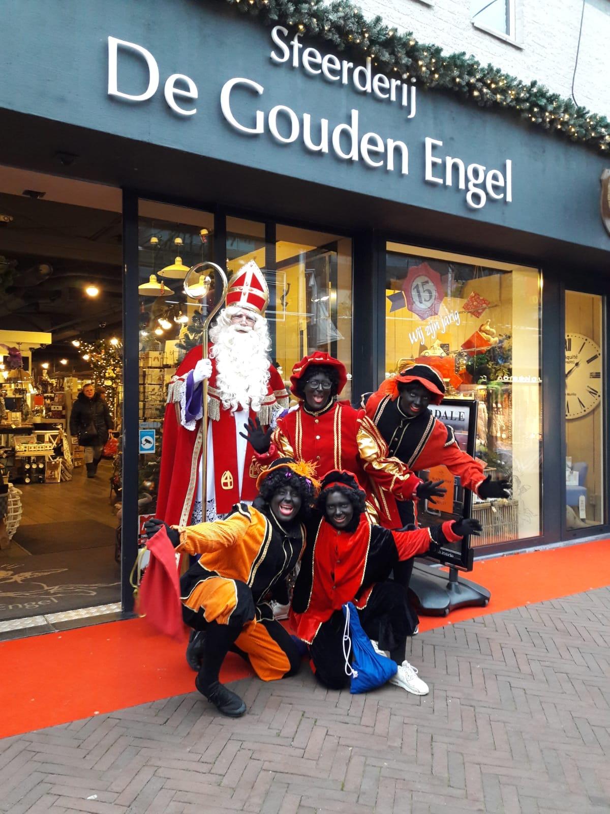 Sinterklaas in de Touwslagersbaan