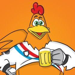 'Maarten de Kiep' de Mascotte van Hernen tijdens het WK en EK - Wijchen=