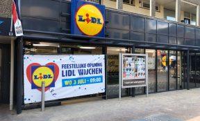 3 juli opening Lidl in het centrum van Wijchen! - Wijchen=