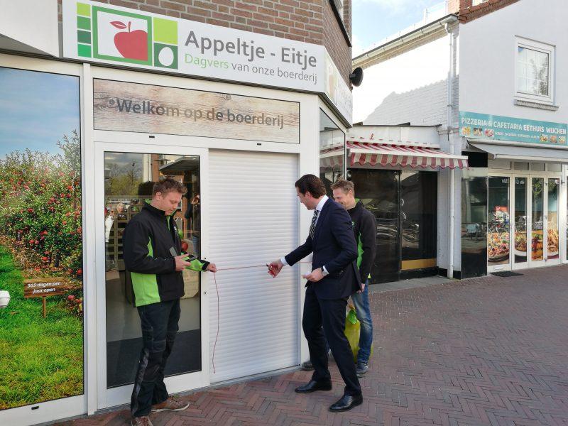 De winkel Appeltje Eitje is geopend!