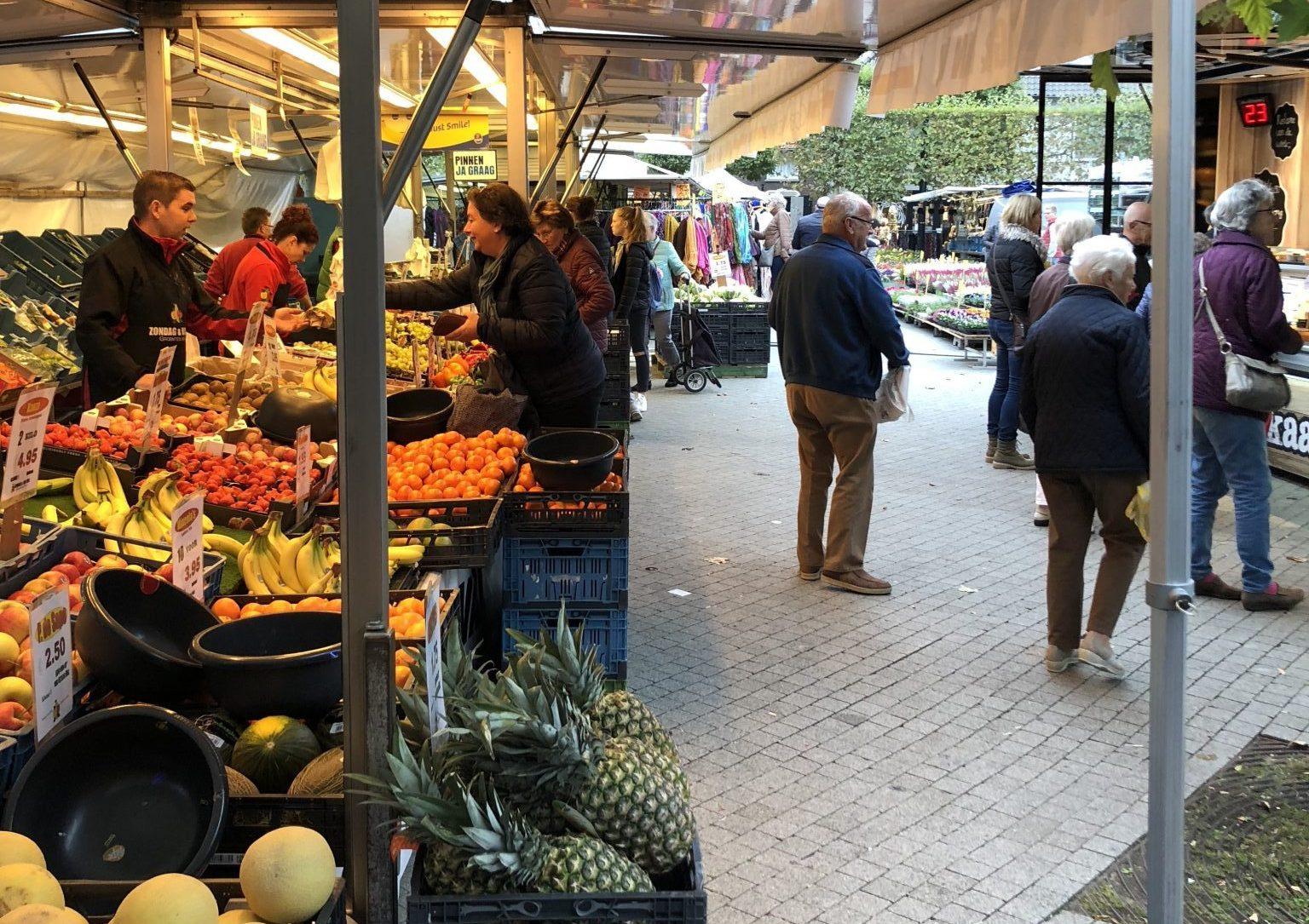 Verplaatsing warenmarkt i.v.m. Wijchen Schaatst