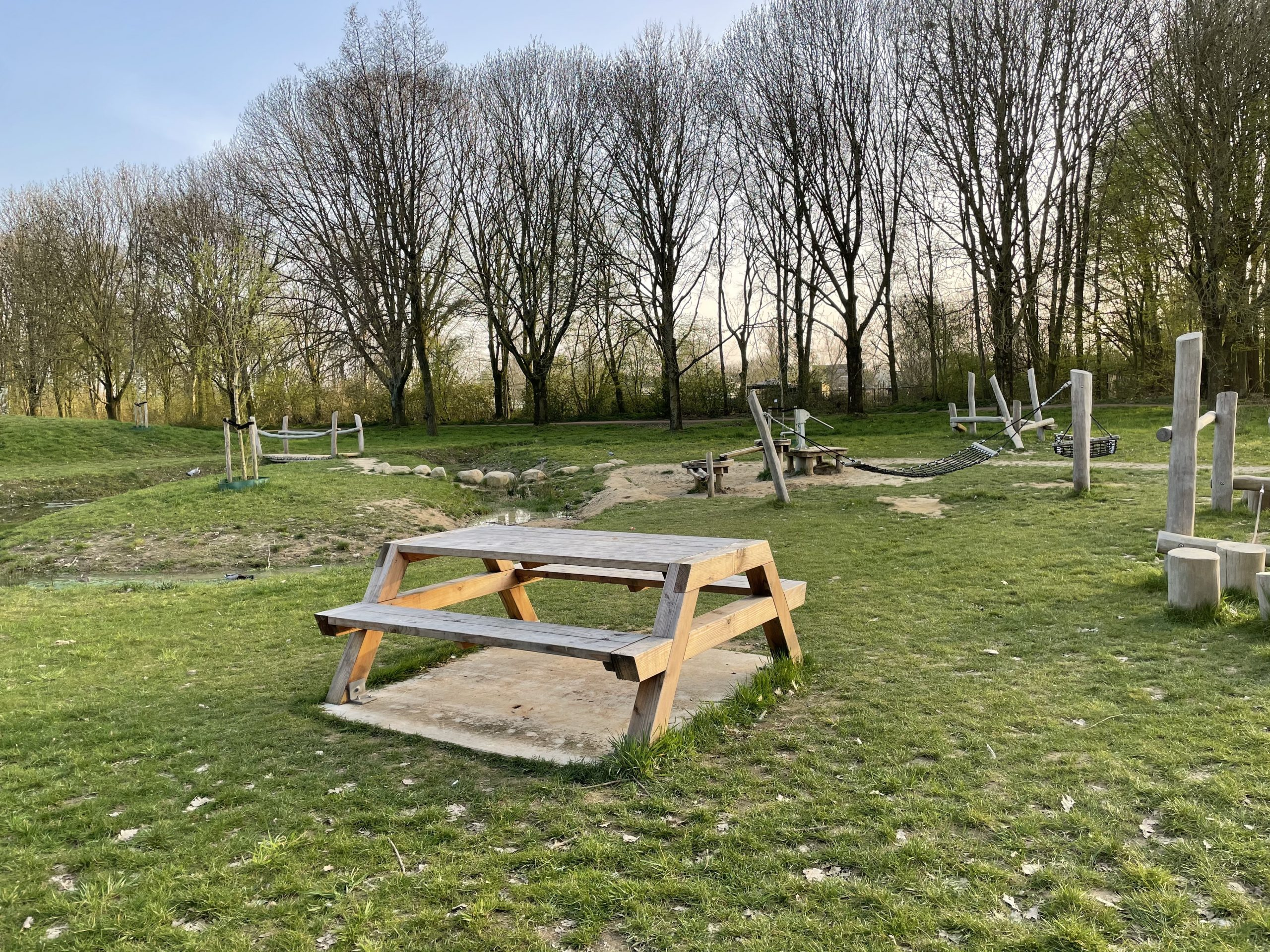 Picknicken bij de waterspeeltuin Oosterpark Wijchen - Wijchen=