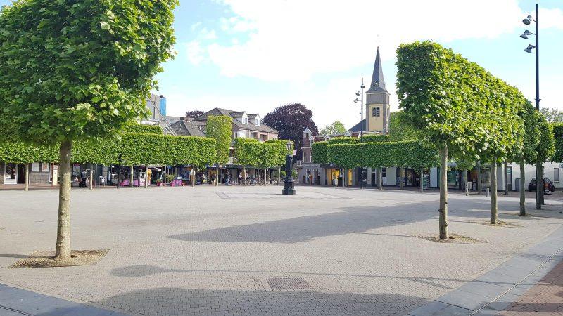Vanaf 1 juni groot terras op de Markt in Wijchen