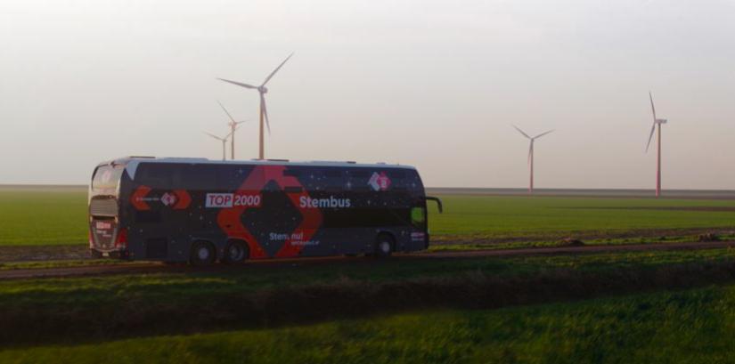 Op woensdag 4 stopt de Top 2000 Stembus in Wijchen