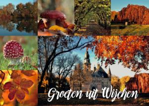 Ansichtkaart Herfst - Wijchen=