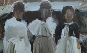 Expositie Kunsthuis: Marian Pruijn - schilderijen - Wijchen=