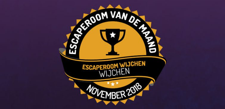 Escape Room Wijchen Escaperoom van de maand november!